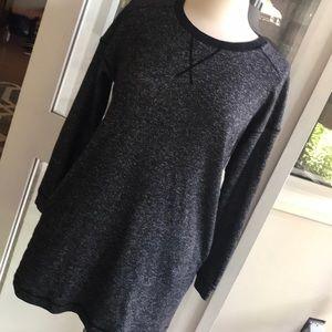 Armani exchange sweatshirt dress